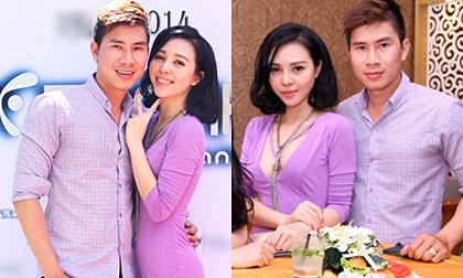 Trà Giang diện váy gợi cảm, thân mật cùng Lê Minh Trung