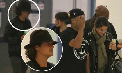 Vừa chia tay Justin, Selena đã vội 'cặp kè' Orlando Bloom?
