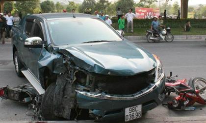 Tài xế xe điên gây tai nạn trên đường Phạm Hùng bị khởi tố