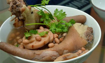 3 món ăn từ đuôi lợn giúp mẹ dễ thụ thai