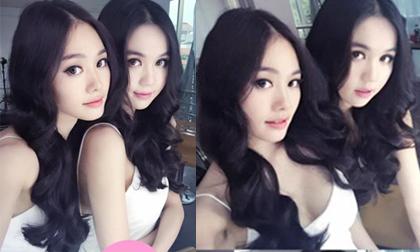 Ngọc Trinh - Linh Chi bất ngờ giống nhau như chị em sinh đôi