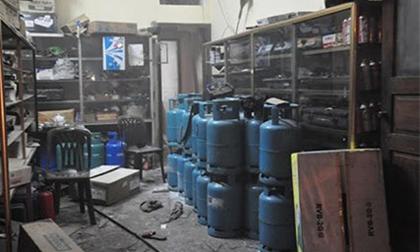 Cửa hàng gas phát nổ kinh hoàng, rung chuyển một góc TP.Hạ Long