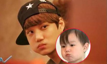 Nhóc tì gây sốt vì cực giống Kai (EXO)