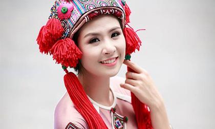 Ngọc Hân đẹp rạng rỡ với trang phục đậm chất văn hóa Việt