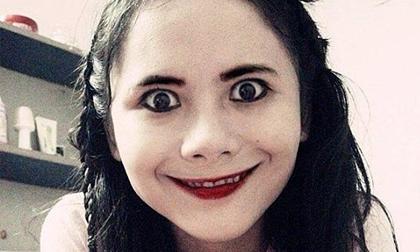 Nữ sinh Việt với khuôn mặt gây ám ảnh mùa Halloween