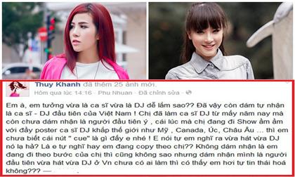 'Bạn gái tin đồn' Hồ Quang Hiếu 'dằn mặt' Hải Băng