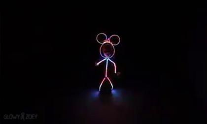Bộ trang phục Halloween bằng đèn led cực dễ thương của bé