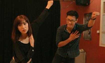 Min (St.319) hướng dẫn 'người trong mộng' tập nhảy