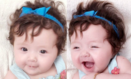 Elly Trần thắt nơ làm điệu cho con gái xinh như công chúa