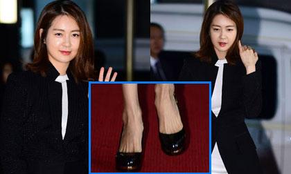 'Nữ hoàng Seon Duk' lộ bàn chân xương xẩu