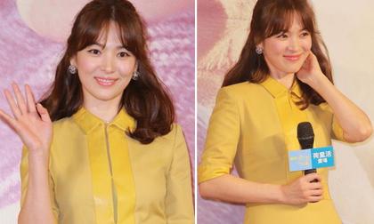 Song Hye Kyo xinh đẹp như hoa tại Hồng Kông