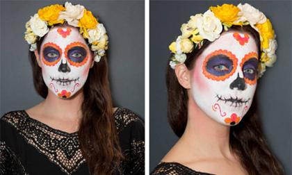 Hướng dẫn vẽ mặt nạ ấn tượng ngày Halloween