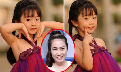 Con gái Thanh Thảo Hugo xinh xắn như công chúa