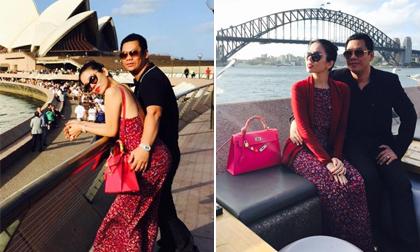Vợ chồng Lệ Quyên khoe ảnh tình tứ tại Sydney