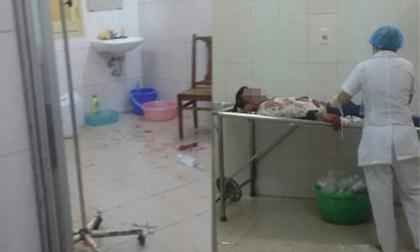 Côn đồ xông vào BV Xanh Pôn, hành hung bệnh nhân
