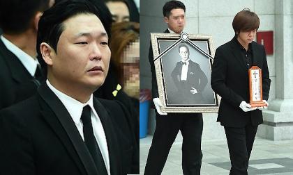 Sao Hàn đau buồn đưa tang ca sỹ Shin Hae Chul