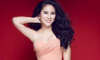 Á hậu Trúc Phương đẹp như 'nữ thần' với thiết kế của Lê Thanh Hòa