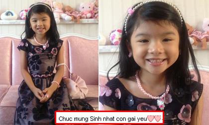 Con gái Trần Bảo Sơn xinh như công chúa trong ngày sinh nhật