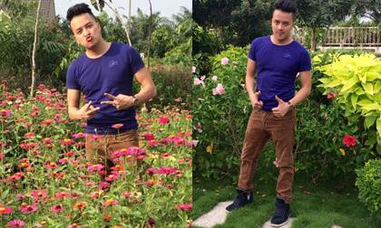 Cao Thái Sơn khoe sân vườn đầy hoa đẹp như công viên