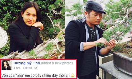 'Vợ chồng' Bằng Kiều thi nhau khoe vườn bonsai tiền tỷ hút mắt