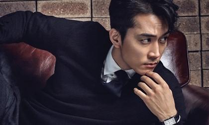 Song Seung Hun khoe vẻ nam tính hấp dẫn 'khó cưỡng'