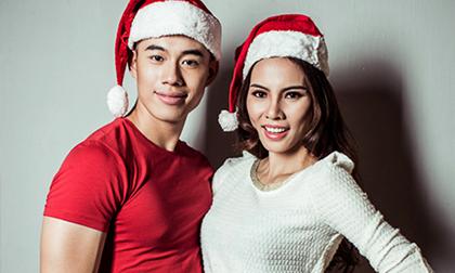 Lệ Quyên – Thế Anh tình tứ đón Noel sớm