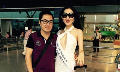 Huỳnh Thúy Anh lại đi thi Hoa hậu chui?