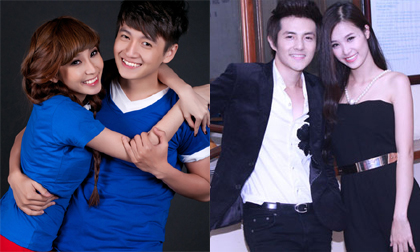 4 cặp tình nhân trẻ 'hot' nhất làng nhạc Việt