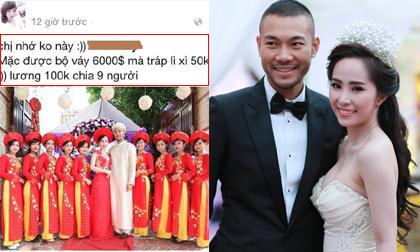 Quỳnh Nga lên tiếng về việc bị tố trả lương bê tráp 'bèo bọt'
