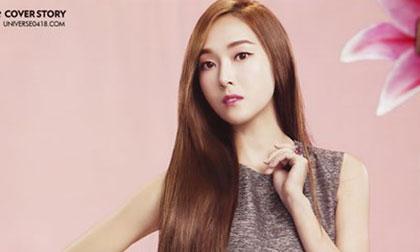 Jessica (SNSD) đẹp hút hồn trên tạp chí Marie Claire