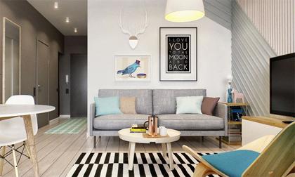 Hai mẫu căn hộ nhỏ đáng khao khát cho vợ chồng trẻ