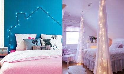 Tỏa sáng phòng ngủ với đèn nhấp nháy