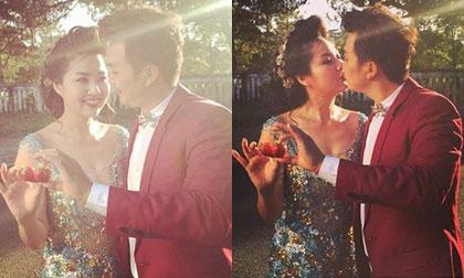 Hậu trường ảnh cưới lãng mạn của Lê Khánh và bạn trai lâu năm