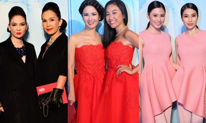 Dàn sao Việt hóa 'chị em sinh đôi' đi xem thời trang