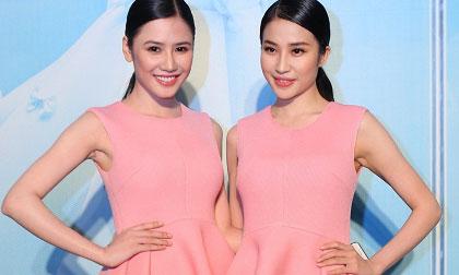 Tường Vy, Minh Thư như hai đóa hồng rực rỡ trong show 'The Twins'