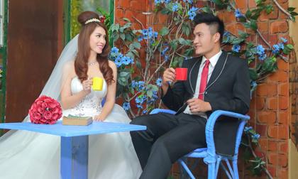 Ngắm ảnh cưới của diễn viên Hoàng Ny và siêu mẫu Quang Thịnh