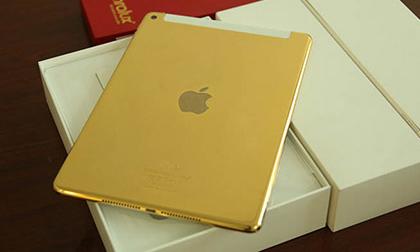 Đẹp ngỡ ngàng siêu phẩm iPad Air 2 mạ vàng 24K đẳng cấp