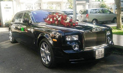 Xe hoa rước dâu triệu đô của Lam Trường chỉ có 5 chiếc ở Việt Nam