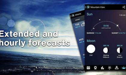 10 ứng dụng thời tiết tốt nhất dành cho Android và iOS