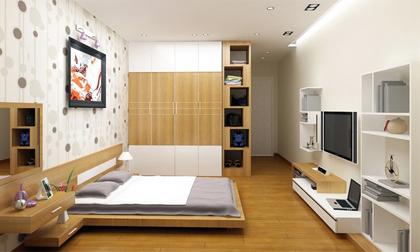 Tư vấn cải tạo cho căn hộ rộng 63,5m² thêm 1 phòng ngủ