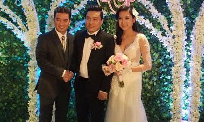Cận cảnh tiệc cưới sang trọng của Lam Trường ở tòa nhà 40 tầng