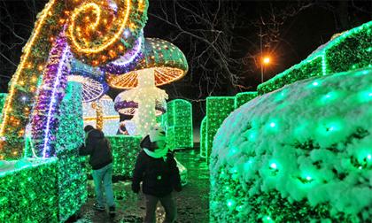 Dạo quanh thế giới với ánh sáng lung linh của lễ hội cuối năm