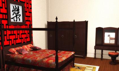 Tranh chữ trong phòng ngủ, vợ chồng bất hòa liên miên