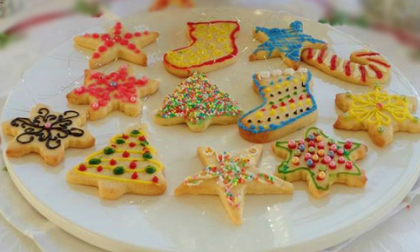 Tràn ngập không khí Giáng sinh với bánh quy mật ong