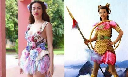 Hà Hồ bất ngờ diện 'thời trang Na Tra thái tử'