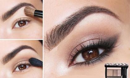 Chia sẻ bí quyết trang điểm cho đôi mắt nâu