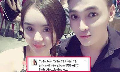 Hotboy 'dao kéo'Anthony Trần liên tục thân mật với em gái Phương Trinh