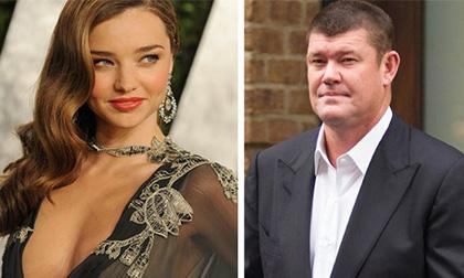Miranda Kerr được đại gia Úc tặng hoa tai kim cương 2,1 tỷ