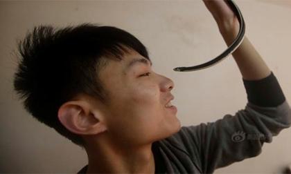 9X nuôi 20 con rắn cực độc làm thú cưng