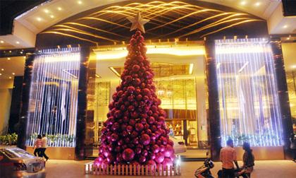 """Ngắm những cây thông """"khủng"""" nhất mùa Giáng sinh 2014"""